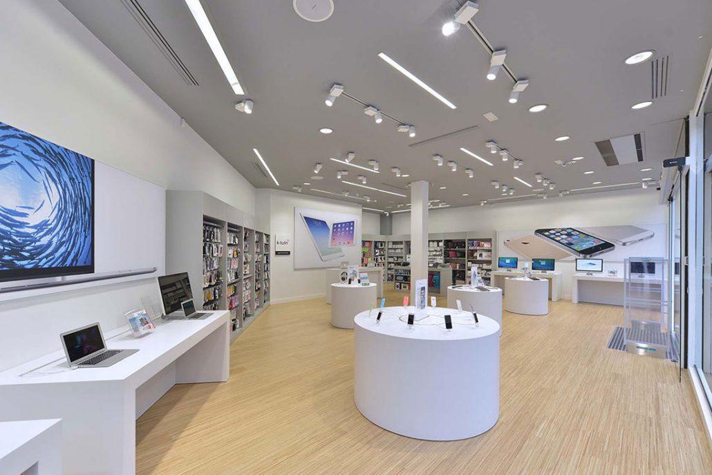 Apple premium reseller k tuin madrid garrigues retail for Oficinas primark madrid