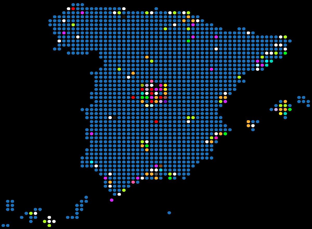 mapa proyectos garrigues retail