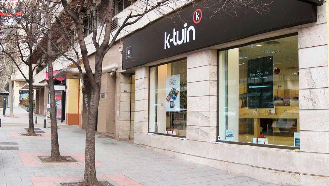 Apple Premium Reseller K-Tuin Madrid calle Orense